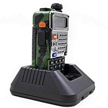 (Bundle) Baofeng UV-5RE 5W 128CH VHF/UHF + Car Eliminator Dual Band Two Way Walkie Talkie(Camouflage)