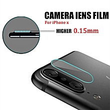 Baseus 0.15mm Back Cover Camera Lens Tempered Glass Protector Film for iPhone X