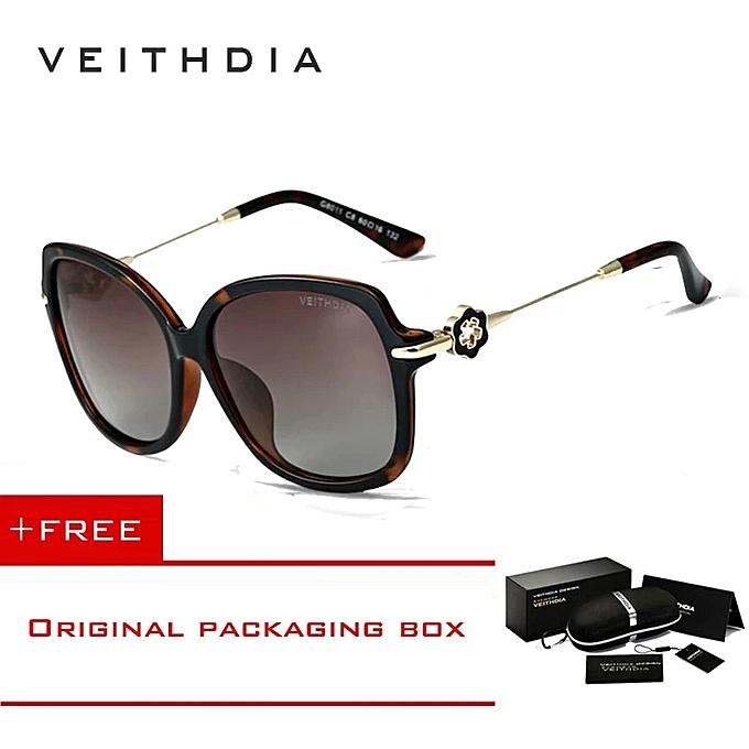 3272f1f2fb0 VEITHDIA TR90 Womens Driving Sun Glasses Polarized Mirror Lens Luxury  Ladies Designer Sunglasses Eyewear For Women