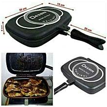 Dessini Two-Sided Double Grill (Non-stick) Pressure Pan (36cm)
