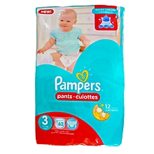 Diapers, Pants, Size 3 (6-11kg), Jumbo Pack (Count 62)
