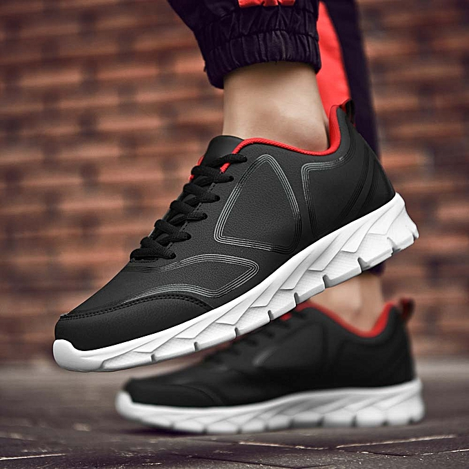 the best attitude 5a021 78327 Fashion Men s Winter Warm Shoes Leather Casual Shoes Sports Running Shoes