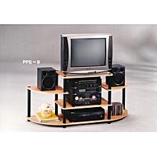 TV Stand - Beech/Black