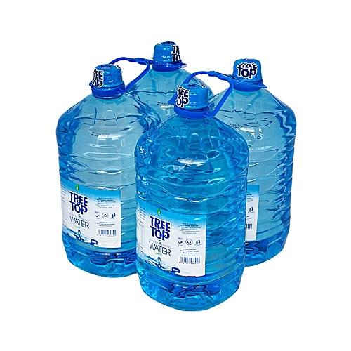 Water Bottle Kenya: Buy Treetop Purified Drinking Water (5 Litre*4) @ Best