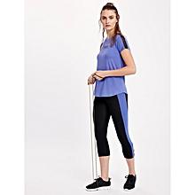 Black and Purple Fashionable Leggings