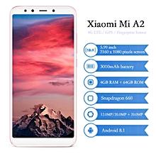 """Xiaomi Mi A2 5.99"""" 4GB RAM + 64GB ROM  Android 8.1 3010mAh"""