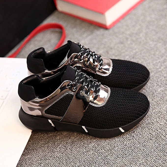 62fdfe6d00 Women?s Outdoor Casual Platform Wedge Sneakers Athletic Shoes Breathable  Sport