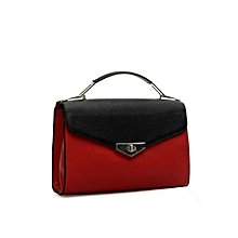 Red and Black Women's Messenger Bag