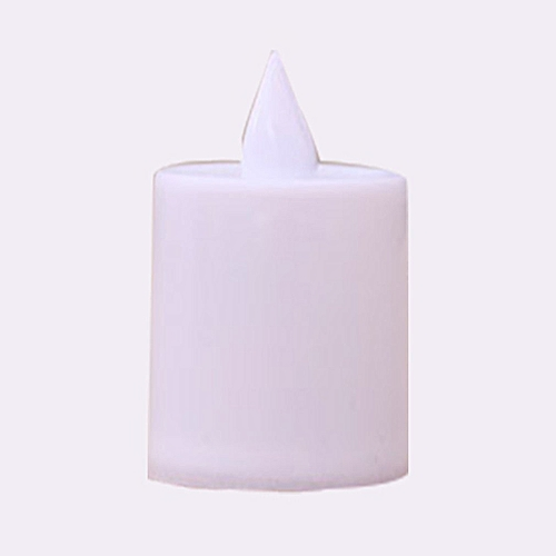 Remote electronic candle light color random