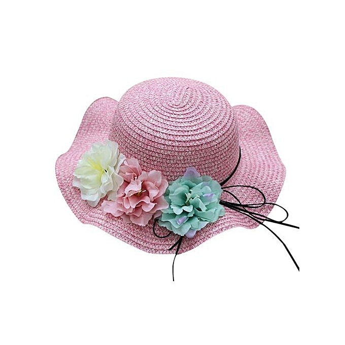 1c4f3ece809 Braveayong Summer Baby Flower Breathable Hat Straw Sun Hat Kids Hat Boy Girls  Hats -Hot ...