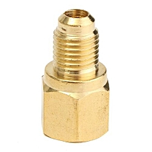 "LX84 R134a Refrigerant Tank Adapter 1/2"" Female X 1/4"" Male Fitting"
