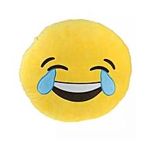 Emoji Throw Cushion - laugh