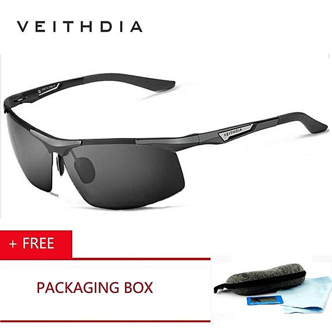 9424db7293 VEITHDIA Fashion Brand Aluminum Magnesium Men's Sunglasses Polarized  Coating Mirror Sun Glasses oculos Male Eyewear Accessories