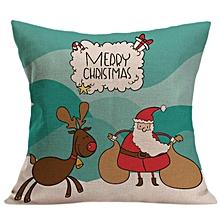 Christmas  Sofa Bed Home Decor Pillow Cushion Cover