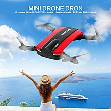 523 Foldable Selfie RC Drone Helicopter Tracker - Red