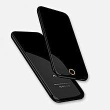 Mini Mobile Phone Ultra Thin Touch Control Card Mobile Phone Fashion Alternate Anica T8-black