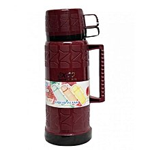 Thermos - 1.8 Litres - Maroon with Black Top & Bottom