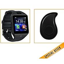 W90 - 1.56 Smart Watch - 128MB ROM - 64MB RAM - 0.3MP Camera - Black