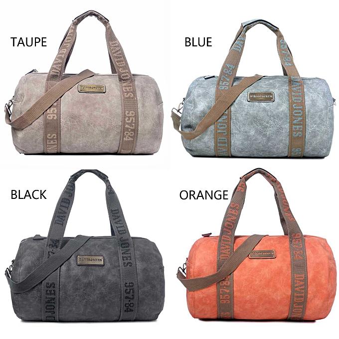 ... Women Barrel Travel Bag PU Handbags Top-Handle ... 0e1e1d08f4f04