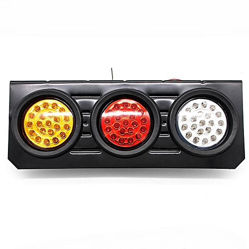AU-2X Tray Back Ute/Trailer/Truck/Boat Reverse Indicator LED Stop Tail  Light-multi-color mixed