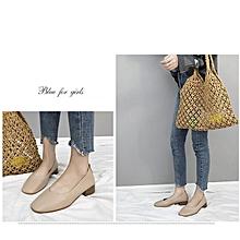 Women'Fashion shoes Low Flats -- Grey