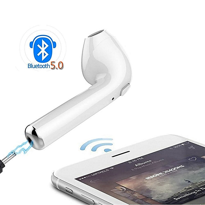New 50 Earphone Bluetooth Sport Earbuds Tws Wireless Bluetooth Headset Casque Sans Fil Charger Box Earbuds Stereo Earphonewhite With Box
