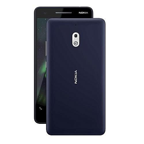 """2.1, 5.5"""" (8GB+1GB RAM) 8MP Camera, Dual SIM (4G) - Blue Silver"""