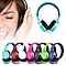 Headsets Music Earphones Gaming Headphones 3.5mm Foldable Portable For Phone MP3 MP4 Computer - Green