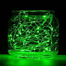 20LED Copper Wire String Lights for Decorations 1pcs - Green
