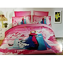 Child's Cartoon Duvet With Bed Sheet, One Pillow Cases, 4*6