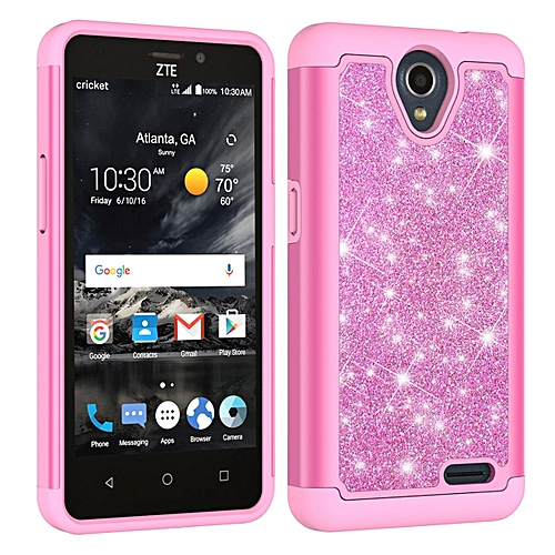 official photos 585e6 d2f48 Grandcase Phone case ,Luxury Dual Slim Soft TPU Inner + Hard PC Bling  Crystal Rhinestone Sparkle Diamond Case Cover for ZTE Prestige 2