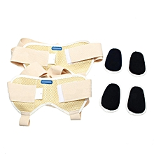 Wonder Care - Double/ Single Inguinal Hernia Support Belt Truss Brace 2 pads FBA L