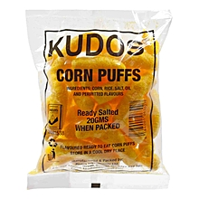 Ready Salted Corn Puffs, 20g