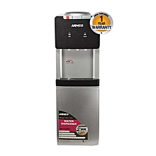 AD-17FHNCR(S) - 3 Tap Water Dispenser with Refrigerator - 16L - Hot / Normal & Cold - Silver