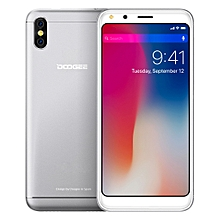 DOOGEE X53, 1GB+16GB, Dual Back Cameras, 5.3 inch Android 7.0 MTK6580M Quad Core up to 1.3GHz, Network: 3G, OTA, Dual SIM(Silver)