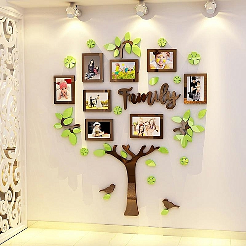 Generic Family Tree Frame Collage Pictures Frame Collage