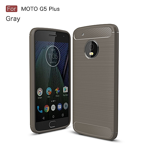 separation shoes a29b7 73402 For Motorola Moto G5 Plus Soft Carbon Fiber Case Cover Shockproof Full  Protector Metal Wire Drawing Casing Armor For Moto G5 Plus Shell 297367 c-2  ...
