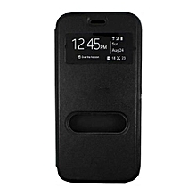 Double Window Flip Cover - for Note 3 (X601) - Black