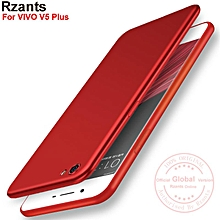 Rzants For VIVO V5 Plus Smooth Ultra-thin light 【Metal lacquer coating】Soft Back Case Cover