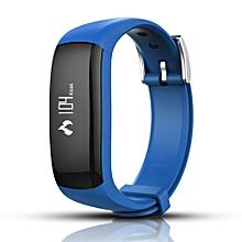 P6 Wristband Blood Pressure Watch Blood Oxygen Heart Rate Monitor Smart Watch BU