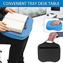 Portable Tray Lap Desk Table Cushioned Computer Reading Writing Mac Laptop Pad