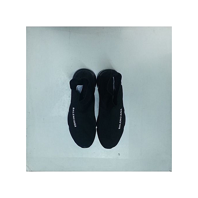 b0062e70c fashionable all black slip on balenciaga