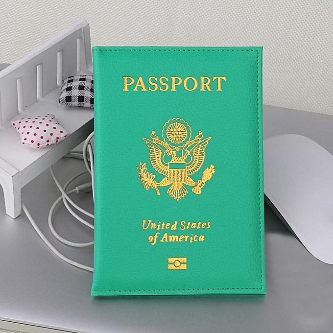 Buy fashion singedanpassport holder protector wallet business card singedanpassport holder protector wallet business card soft passport cover green green colourmoves