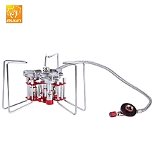 BL100 - B6 - A Portable Foldable Stainless Steel Gas Stove for Outdoor Camping Cooking BBQ Picnic