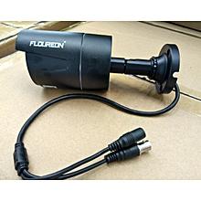 1x8CH 1080P 1080N AHD DVR+4xOutdoor 3000TVL 1080P 2.0MP Camera+1TB HDD Security Kit EU Plug - BLACK