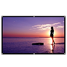 16:9 Projector Screen 100 inch Lightweight - White
