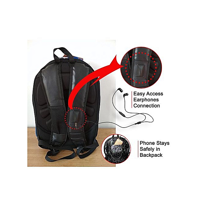 new product a393a 51441 Laptop Bag / Waterproof Turtle Eva Urban Travel Anti-Theft Laptop Backpack  Bag With Headphone Jack