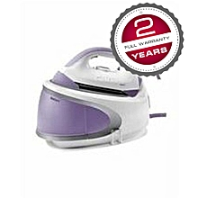 ST-CC7112- Steam Iron - 2400W - White & Purple