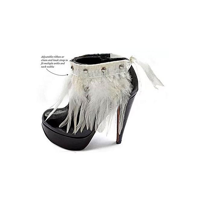 NGOMA Feather Cuff - Multi Purpose Jewellery - Bone