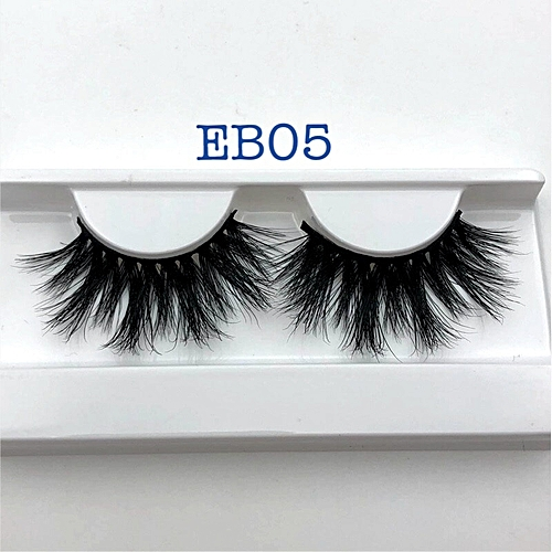 40b0cfd790f Generic New arrival mink lashes 25mm natural long 3D mink strip fur  handmade eyelashes wholesale price(EB05 only tray)